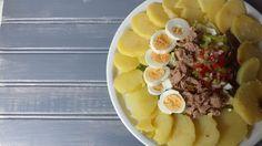 Ensalada de patata y huevo cocido. #GourmetBilbao