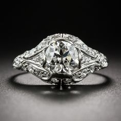 Shreve & Co 1.07 ct Art Deco