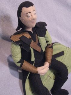 Do you think Tom Hiddleston has a room in his house filled with Loki stuff? I do.