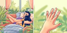 illustration Artist Depicts Her Relationship With Her Boyfriend In 31 Illustrations Love Cartoon Couple, Cute Couple Comics, Couples Comics, Comics Love, Cute Couple Art, Cute Love Cartoons, Cute Comics, Cute Cartoon, Cute Couples