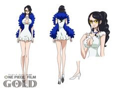 One Piece Film Gold Anime's Character Costumes by Original Creator Unveiled - News - Anime News Network