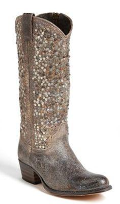 Gorgeous Frye 'Deborah' Studded Boot http://rstyle.me/n/pzrh5nyg6