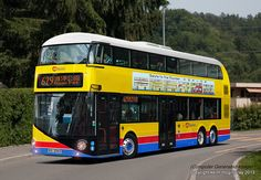Borismaster Tri-axle: Hong Kong Citybus by KM_Edinburgh, via Flickr