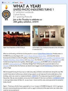 Check out this Mad Mimi newsletter and don't miss the image of 'FotoFestival Naarden' exhibiting in NY