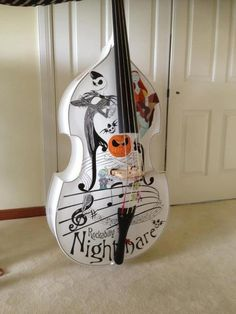 nightmare before christmas violin More