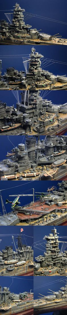 battle ship 'Kongo'  Finished Model by ZEKE - M STUDIO Artist