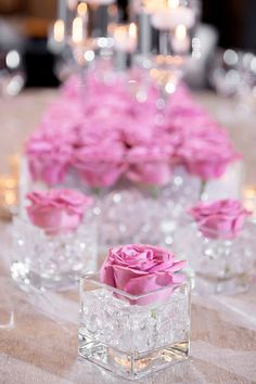 Raise a glass ladies because we are serving up some seriously tasteful inspiration with this penthouse level cocktail chic bridal shower sesh with top tips. Pink Centerpieces, Quinceanera Centerpieces, Candle Wedding Centerpieces, Quinceanera Party, Chic Bridal Showers, Bridal Shower Decorations, Wedding Decorations, Quince Decorations, Birthday