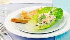 Avokado-katkarapusalaatti