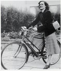 velo 1930-38 -- while this is much later, it gives a good example of how the split skirt unbuttoned for riding and could be rebuttoned as a streetwear skirt.  This was the more usual bicycle costume in America, whereas a version of bloomers or hunting costume was more common in Britain and Europe apparently.