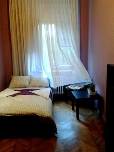 Great location - Basztowa street, windows with view on famous Planty Park.  There is only one street to cross to be in Old City in Kraków.  To Main station is 7 minutes by walk.  I offer you private room with shared bathroom, no access to kitchen. The room has one double bed.   price: 27 euro /per 2