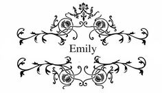 name emily photo: congrats.png | Me, myself & I | Pinterest ...