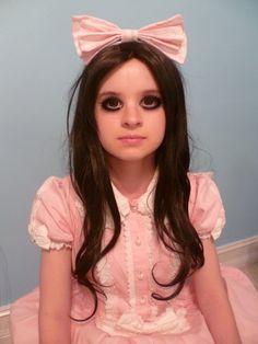 fashionable halloween costume Still Doll