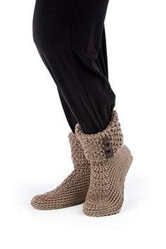 Button Cuff Boots