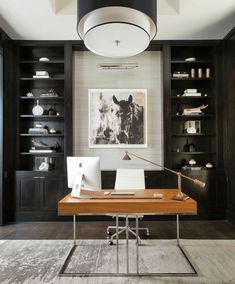 Top 70 Best Modern Home Office Design Ideas - Contemporary Working Spaces Check more at arbeitsplatz. design ideas business layout Top 70 Best Modern Home Office Design Ideas - Contemporary Working Spaces Modern Office Design, Office Interior Design, Office Interiors, Home Interior, Office Designs, Contemporary Office, Contemporary Design, Modern Interior, Modern Offices