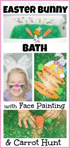 Easter Bunny Activities Bath