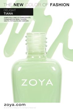 Zoya Tiana - from the Delight collection Zoya Nail Polish, Nail Polishes, Art Of Beauty, Beauty Bar, Girly Stuff, Girly Things, Art Nails, Tiana, Spring Nails