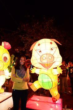 pig lantern and leopard slayer motif
