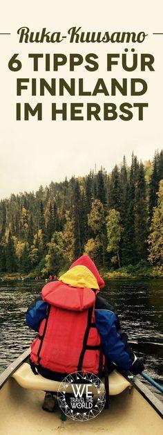 Finnland Reisetipps im Herbst: Die 6 besten Finnland Tipps, Sehenswürdigkeiten, Highlights und Aktivitäten in Ruka-Kuusamo.