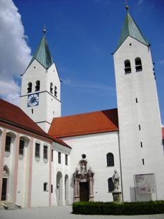 Cathedral Freising near #munich an impressive architectural monument from the 15th century. #germany #church