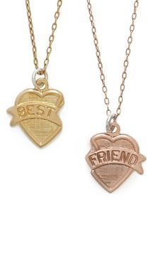 shopstyle.com: Best Friend Necklace Set