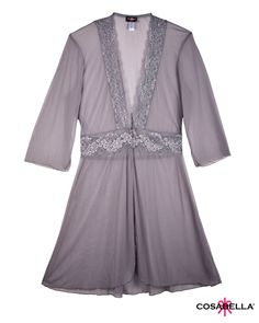 Lucky 3/4 Sleeve Robe - IntiMint