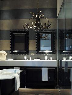 Bathroom/ antlers