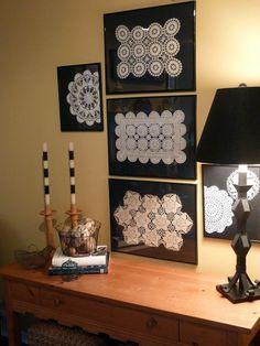 15 Creative Doily Craft Ideas