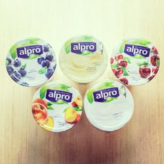 Alpro's plant-based alternatives to yoghurt