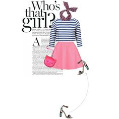 Who's that girl?, created by curliciousinvasion on Polyvore