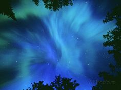 Northern Lights Or Aurora Borealis, Tilton Lake, Sudbury, Ontario, Canada. Photographic Print by Mike Grandmaison at AllPosters.com