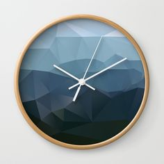 True at First Light Wall Clock by Three Of The Possessed. Worldwide shipping available at Society6.com. Just one of millions of high quality products available.