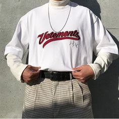 In Fashion Mens Clothes Code: 6633932208 Indie Fashion, Urban Fashion, 90s Fashion, Streetwear Fashion, Fashion Outfits, Modest Fashion, Fashion Ideas, Retro Outfits, Mode Outfits