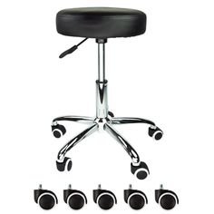 ergonomic chair betterposture saddle chair. black rubber wheel facial beauty salon stool spa tattoo equipment medical chair ergonomic betterposture saddle