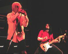 John Frusciante and Anthony Kiedis in 1999