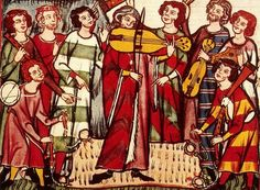 Goliards - The word goliard eventually lost its clerical association, passing into French and English literature of the 14th century in the general meaning of jongleur, or minstrel (its meaning in Piers Plowman and in Chaucer).