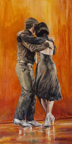 Dancing_tango_40x80cm_acrilico_su_tela