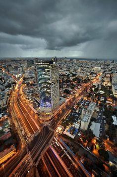 The Tel Aviv metropolis.