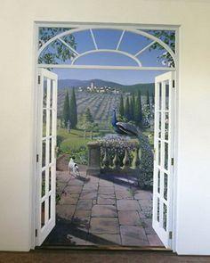 5-false doors to the garden