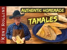 How to Make Tamales - Authentic Homemade Tamales Y'all are in for a treat today! The best hot tamale Tamale Recipe, Tamale Pie, Hot Tamales Recipe, Pork Tamales, Camping Food Make Ahead, Camping Meals, Dutch Oven Cooking, Cast Iron Cooking, Kent Rollins