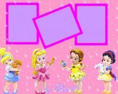 Tarjetas de las Princesas de Disney para personalizar - Guía de MANUALIDADES