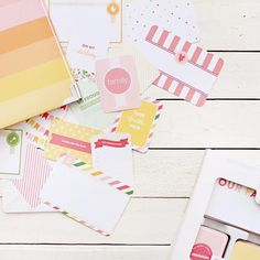 Emily Ley Project Life Baby Book Cards