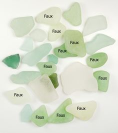 The Blue Bottle Tree: Making Faux sea glass with polymer clay.