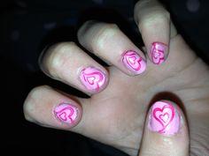 Valintines nails