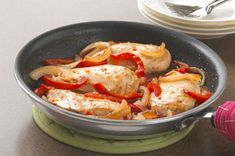 Italian-Style Chicken Skillet recipe......  This was a TRUE HIT at my house this evening!!!!
