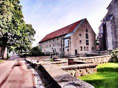 On to breakfast - Vadstena Klosterhotel, Sweden