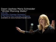 Maria Schneider's recording features soprano, Dawn Upshaw, the Australian Chamber Orchestra, The Saint Paul Chamber Orchestra, Frank Kimbrough, Jay Anderson and Scott Robinson. This recording is comprised of 2 commissions that feature poetry by Ted Kooser and Carlos Drummond  de Andrade with translations by Mark Strand. The recording was produce...