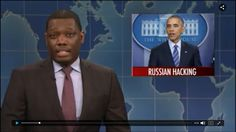 WEEKEND UPDATE ON RUSSIA HACKING THE ELECTION - SNL Dec 17, 2016