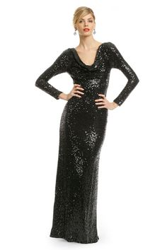 0d1694658a Rent Sequin Tyrian Purple Gown by Nicole Miller for  70 only at Rent .