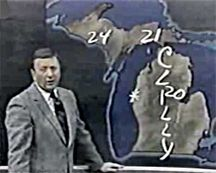 Sonny Eliot - Detroit Weather Man.  If you grew up in Detroit you remember this lovable funny man.  I remember being a little girl and meeting him at the old Hudson's department store.