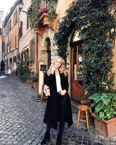 Carin Olsson in Rome, Italy